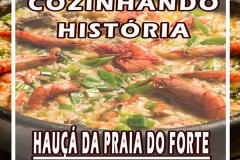 HAUÇA DA PRAIA COZINHANDO HISTORIA